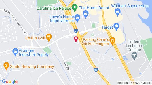 Hyatt Place North Charleston Map