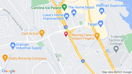 Comfort Suites North Charleston - Ashley Phosphate Map