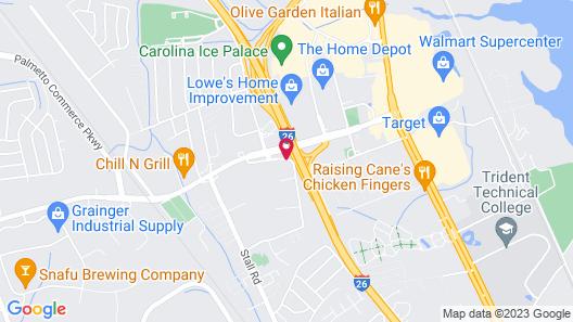 Staybridge Suites North Charleston, an IHG Hotel Map