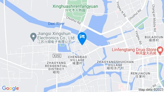 GreenTree Inn Taizhou Xinghua Yangshan Road Express Hotel Map