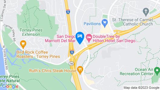 Hampton Inn San Diego Del Mar Map
