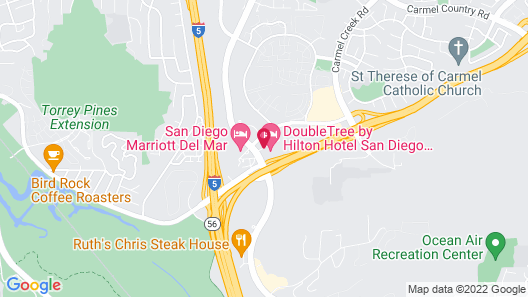 DoubleTree by Hilton San Diego - Del Mar Map