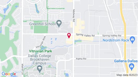 Comfort Inn & Suites North Dallas - Addison Map