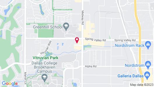 Comfort Inn & Suites North Dallas-Addison Map
