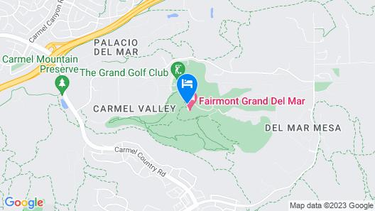 Fairmont Grand Del Mar Map