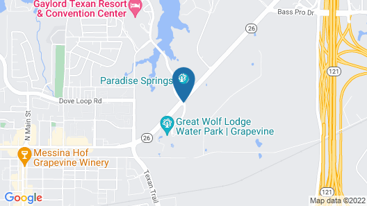 Great Wolf Lodge Grapevine Map