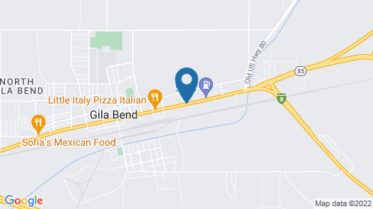 Palms Inn Map