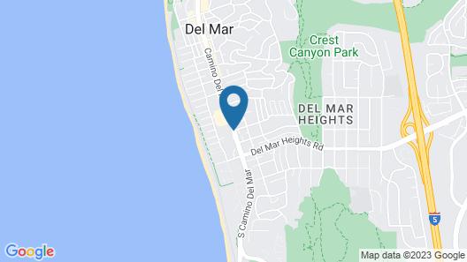 Hotel Indigo San Diego Del Mar Map