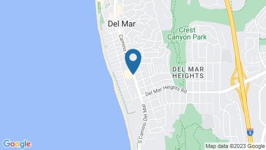 Best Western Premier Hotel Del Mar Map