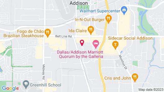 La Quinta Inn & Suites by Wyndham Dallas - Addison Galleria Map