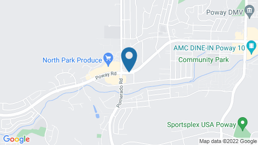 Ramada by Wyndham Poway Map