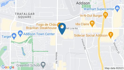 Holiday Inn & Suites Dallas-Addison, an IHG Hotel Map