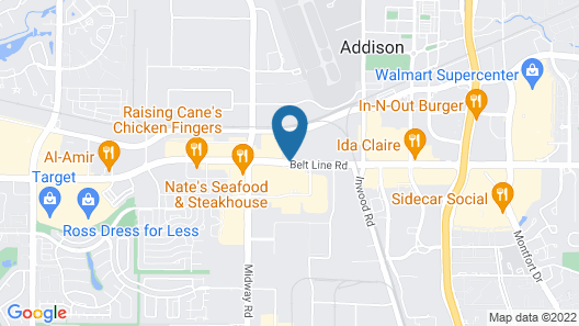 Homewood Suites by Hilton Dallas/Addison Map