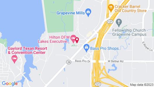 Hilton DFW Lakes Executive Conference Center Map