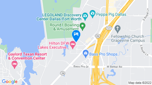 Hyatt Place Dallas/Grapevine Map