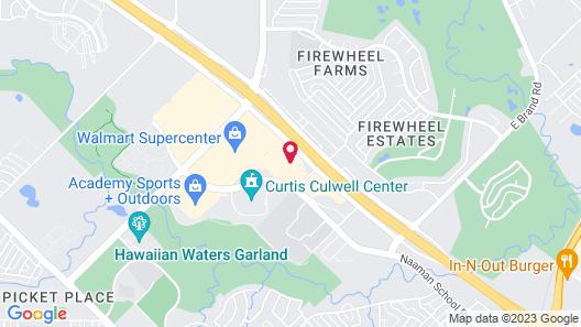 Hyatt Place Dallas/Garland/Richardson Map