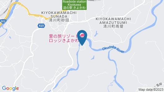 Satonotabi Resort Lodge Kiyokawa Map