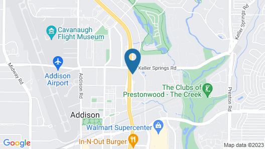 Staybridge Suites Dallas Addison, an IHG Hotel Map