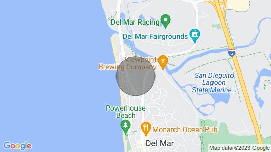 Private Beach Home, Walk to Beach and Shops - Sleeps 10 Map
