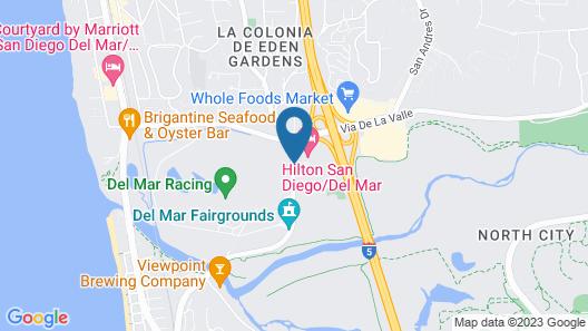 Hilton San Diego Del Mar Map