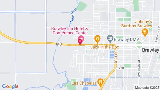 Brawley Inn Map