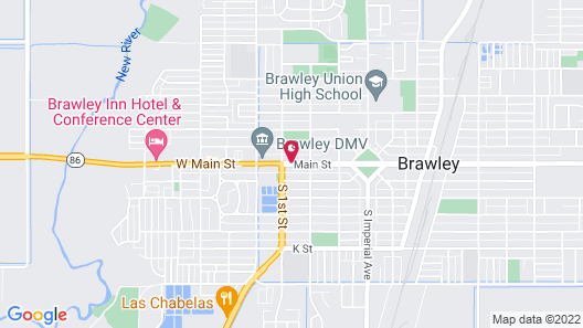 Townhouse Inn & Suites Map