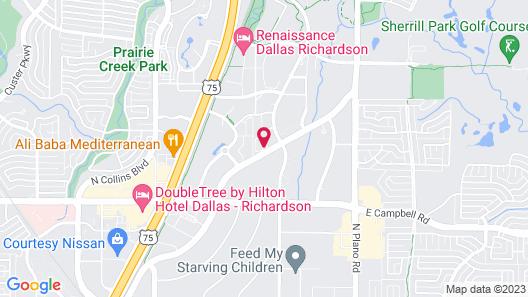 Sonesta Select Dallas Richardson Map