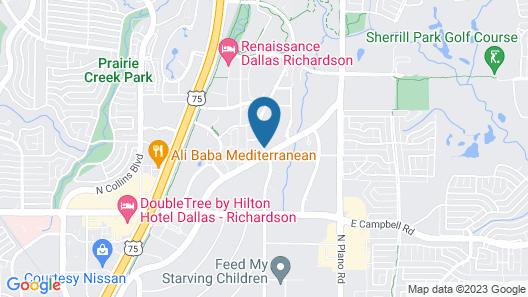 WaterWalk Dallas- Richardson Map