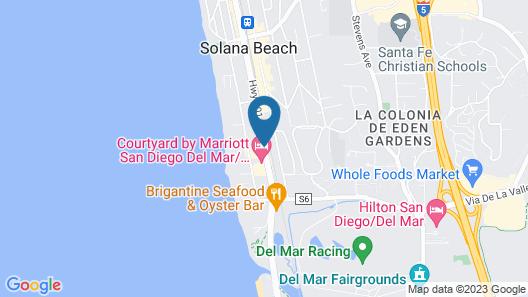 Holiday Inn Express Solana Beach-Del Mar Map
