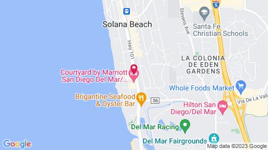 Holiday Inn Express Solana Beach-Del Mar, an IHG Hotel Map