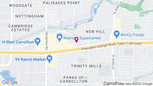 Courtyard by Marriott Dallas Carrollton Map