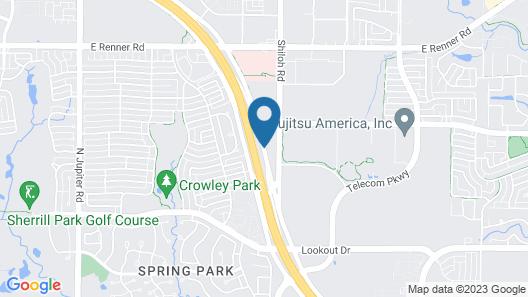 SpringHill Suites Dallas Richardson/Plano Map