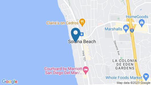 Las Brisas - 2 Br Condo Map