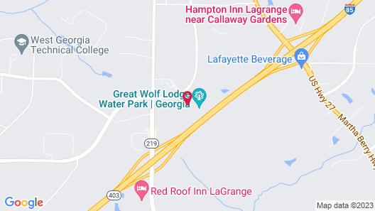 Great Wolf Lodge Atlanta / LaGrange, GA Map