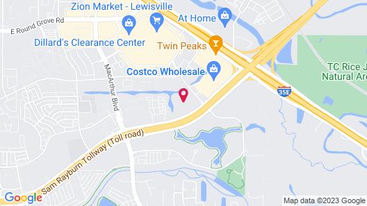Hilton Garden Inn Dallas Lewisville Map