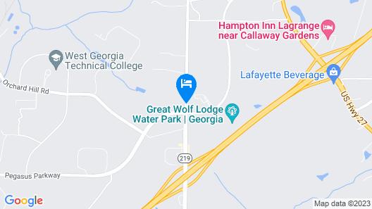 Home2 Suites by Hilton Lagrange Map