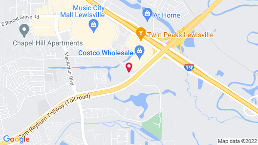 Courtyard By Marriott Dallas - Lewisville Map
