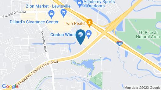 Fairfield Inn & Suites by Marriott Dallas Lewisville Map