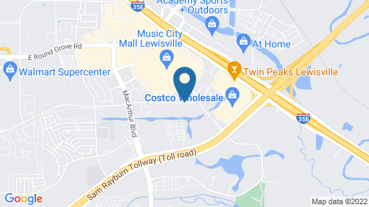 TownePlace Suites by Marriott Dallas Lewisville Map