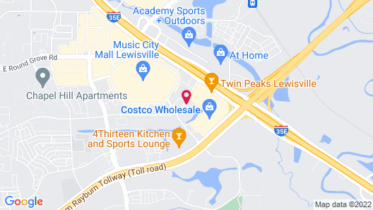 Holiday Inn Express Hotel & Suites Dallas Lewisville, an IHG Hotel Map