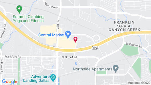 Residence Inn by Marriott Dallas Plano/Richardson at Coit Rd Map