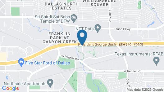 Hilton Garden Inn Dallas Richardson Map