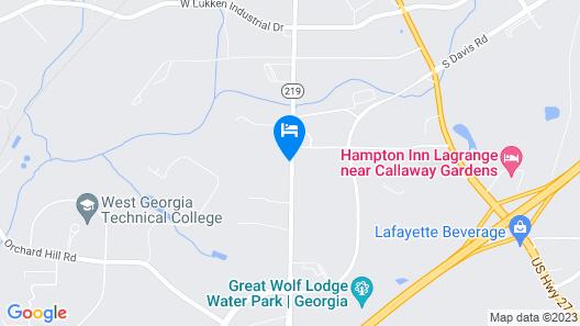 Econo Lodge Map