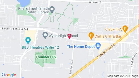 La Quinta Inn & Suites by Wyndham Dallas - Wylie Map