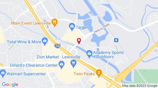 Homewood Suites by Hilton Dallas-Lewisville Map