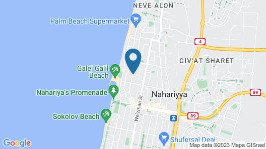 Shtarkman Erna Hotel Map