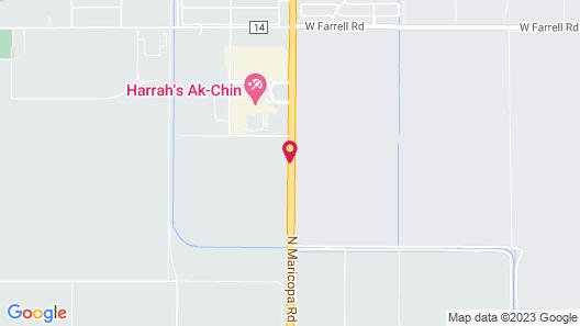 Harrah's Ak-Chin Casino Resort Map