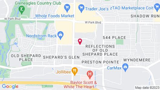 Preston Place Hotel Map