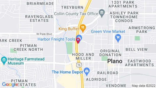 Super 8 by Wyndham Plano/Dallas Area Map