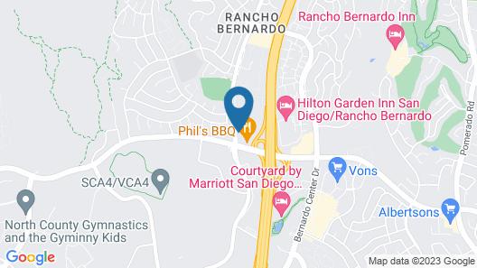 Holiday Inn Express San Diego N - Rancho Bernardo, an IHG Hotel Map